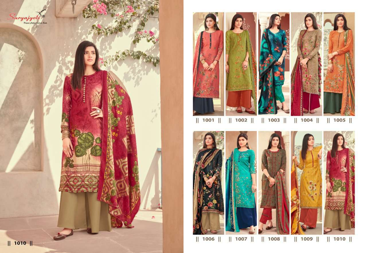 Suryajyoti Nazia Vol 1 Pashmina Salwar Suit Wholesale Catalog 10 Pcs 11 - Suryajyoti Nazia Vol 1 Pashmina Salwar Suit Wholesale Catalog 10 Pcs