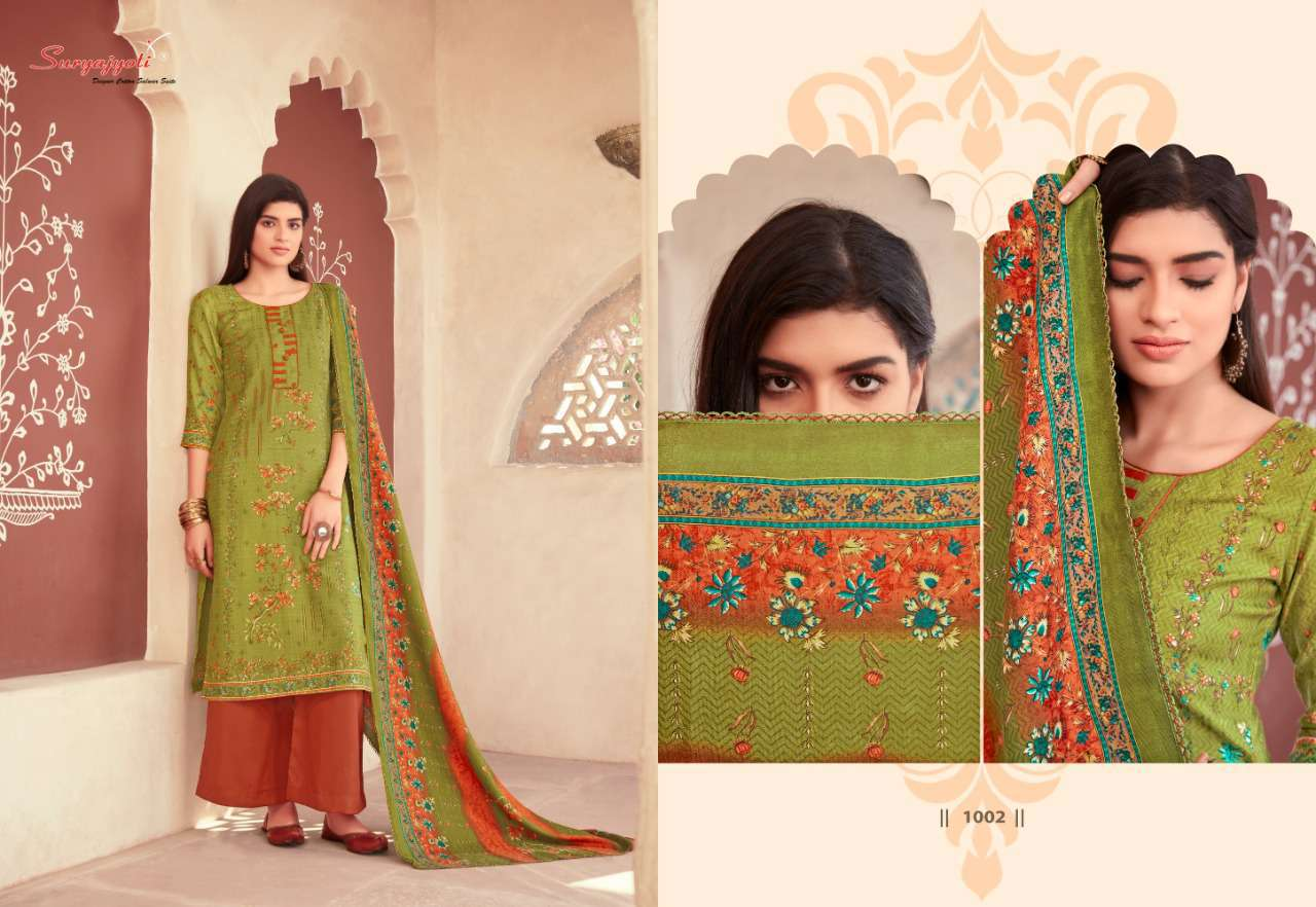 Suryajyoti Nazia Vol 1 Pashmina Salwar Suit Wholesale Catalog 10 Pcs 6 - Suryajyoti Nazia Vol 1 Pashmina Salwar Suit Wholesale Catalog 10 Pcs