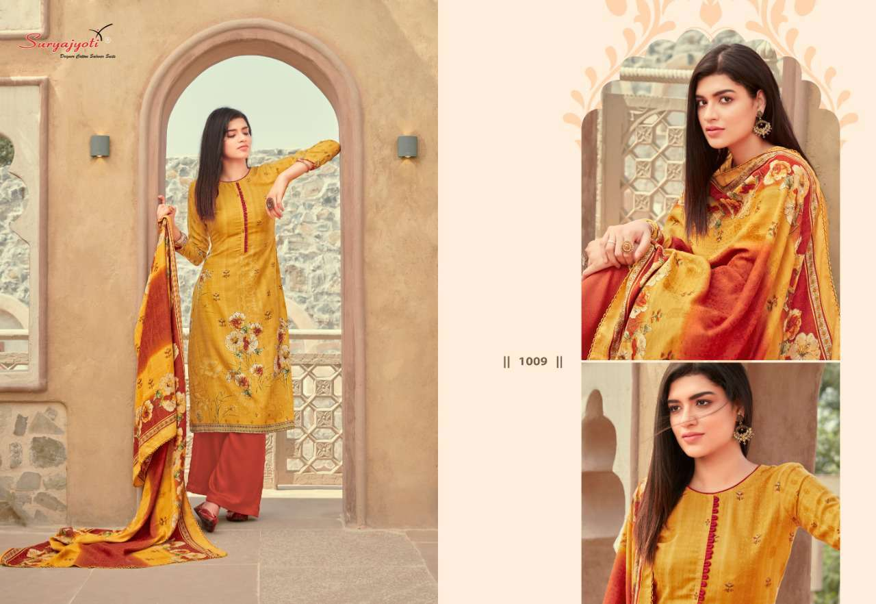 Suryajyoti Nazia Vol 1 Pashmina Salwar Suit Wholesale Catalog 10 Pcs 8 - Suryajyoti Nazia Vol 1 Pashmina Salwar Suit Wholesale Catalog 10 Pcs