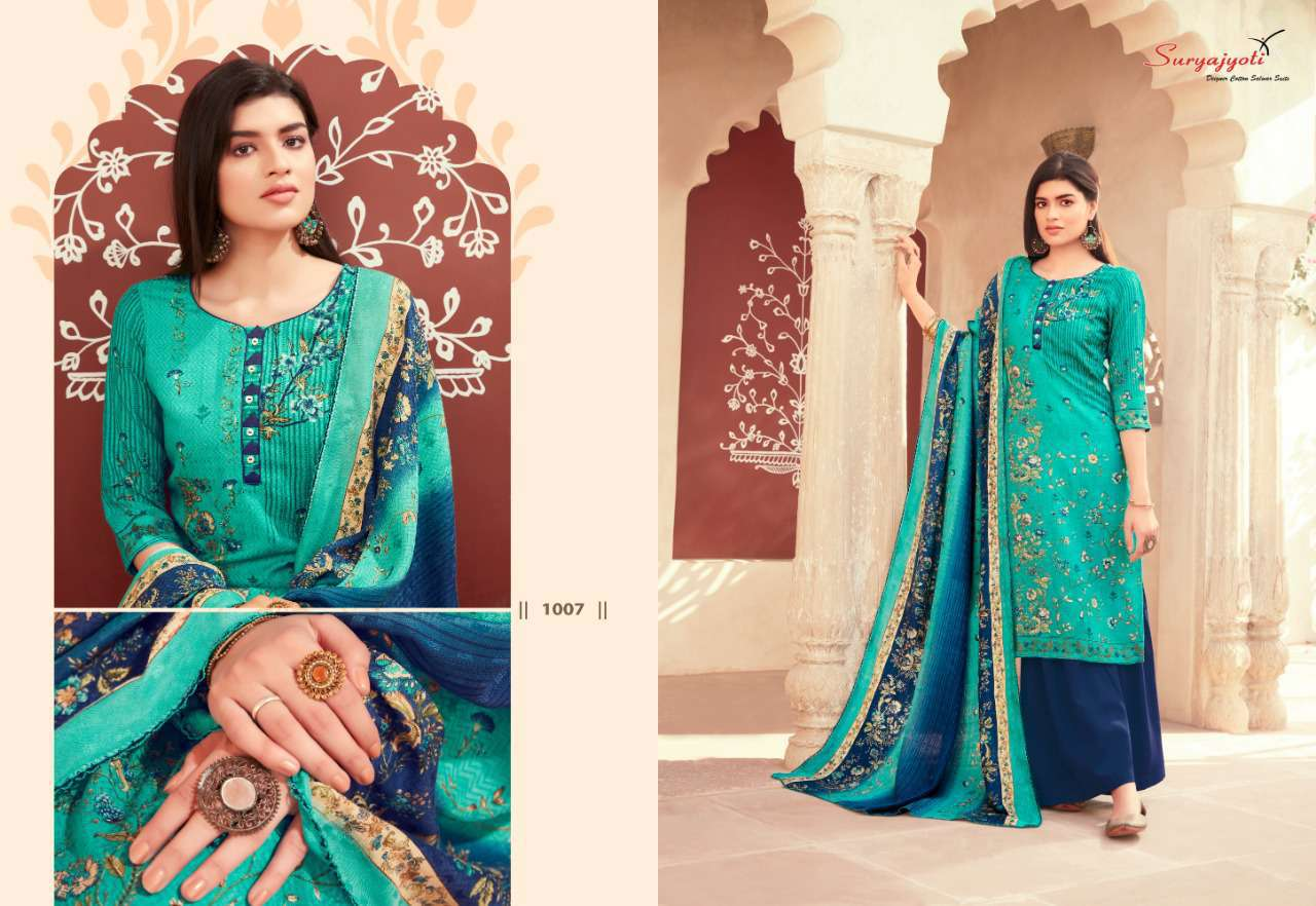 Suryajyoti Nazia Vol 1 Pashmina Salwar Suit Wholesale Catalog 10 Pcs 9 - Suryajyoti Nazia Vol 1 Pashmina Salwar Suit Wholesale Catalog 10 Pcs