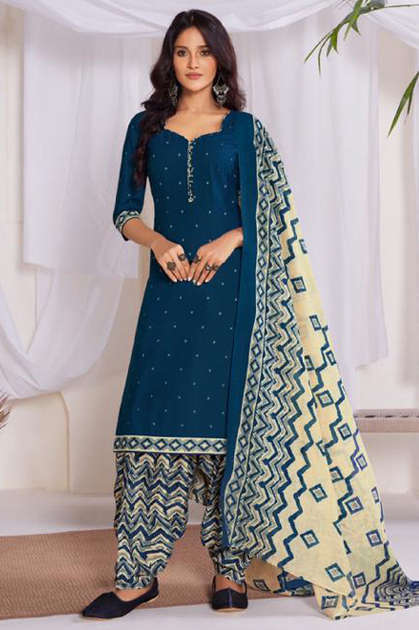 Suryajyoti Sui Dhaga Vol 8 Readymade Salwar Suit Wholesale Catalog 15 Pcs