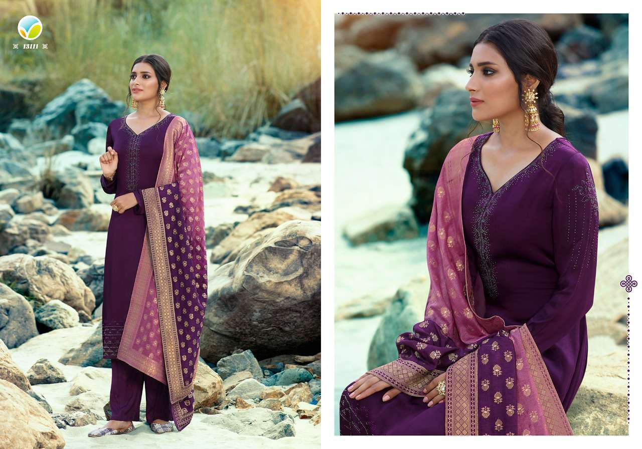 Vinay Kaseesh Esteem Salwar Suit Wholesale Catalog 8 Pcs 1 - Vinay Kaseesh Esteem Salwar Suit Wholesale Catalog 8 Pcs