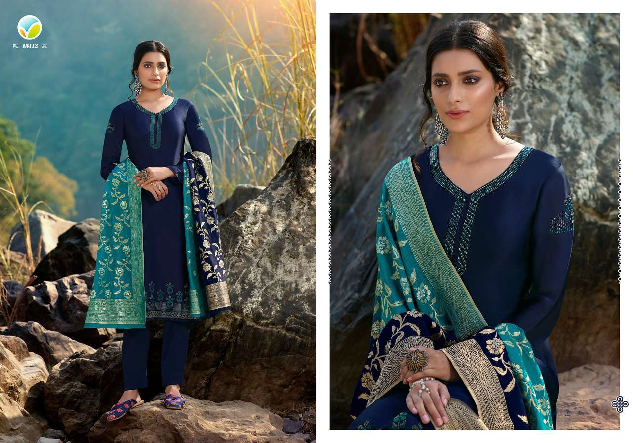 Vinay Kaseesh Esteem Salwar Suit Wholesale Catalog 8 Pcs 10 - Vinay Kaseesh Esteem Salwar Suit Wholesale Catalog 8 Pcs