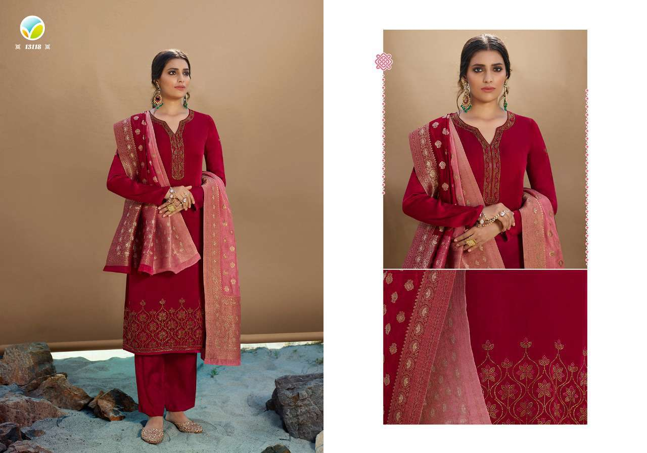 Vinay Kaseesh Esteem Salwar Suit Wholesale Catalog 8 Pcs 4 - Vinay Kaseesh Esteem Salwar Suit Wholesale Catalog 8 Pcs
