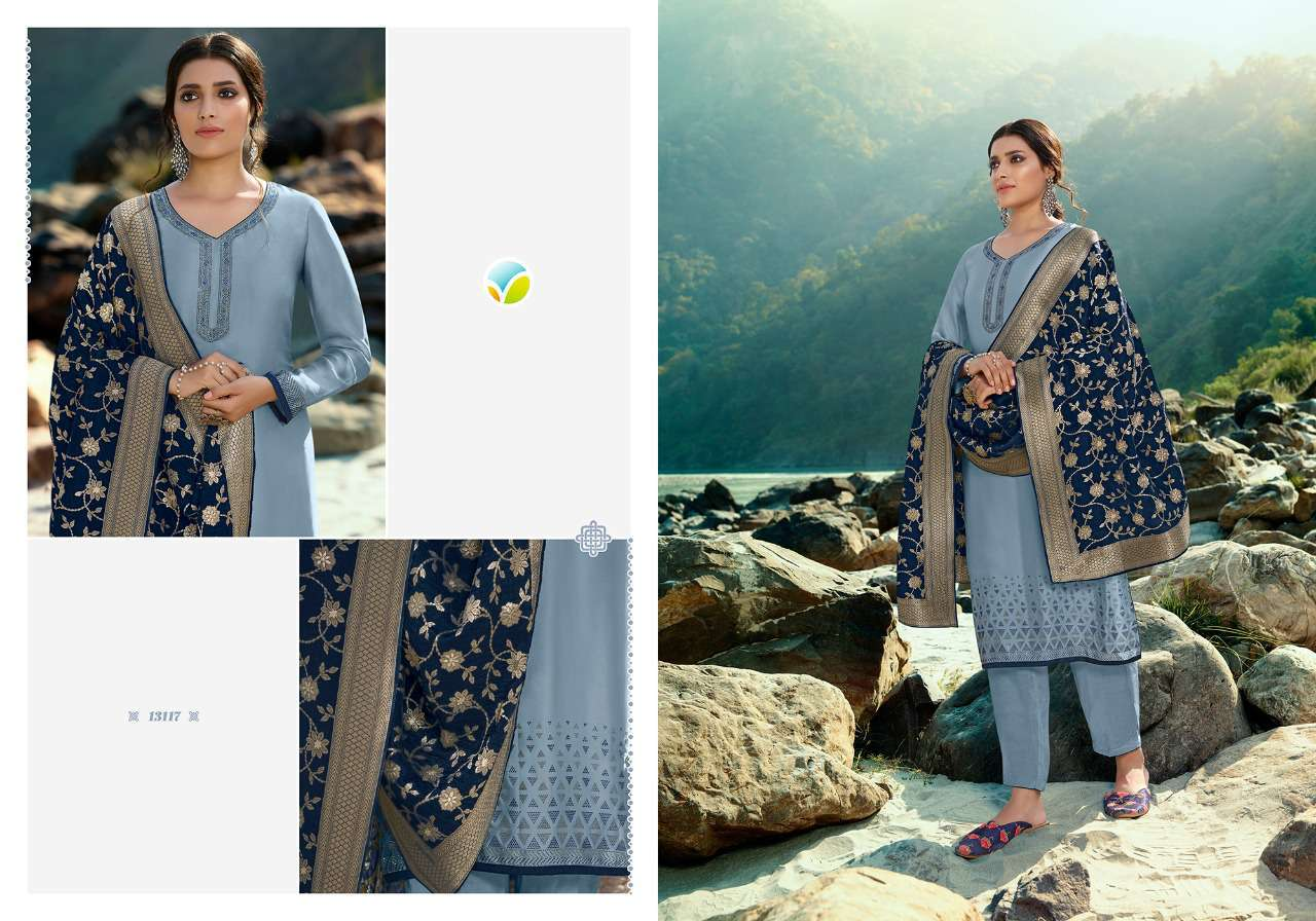 Vinay Kaseesh Esteem Salwar Suit Wholesale Catalog 8 Pcs 5 - Vinay Kaseesh Esteem Salwar Suit Wholesale Catalog 8 Pcs