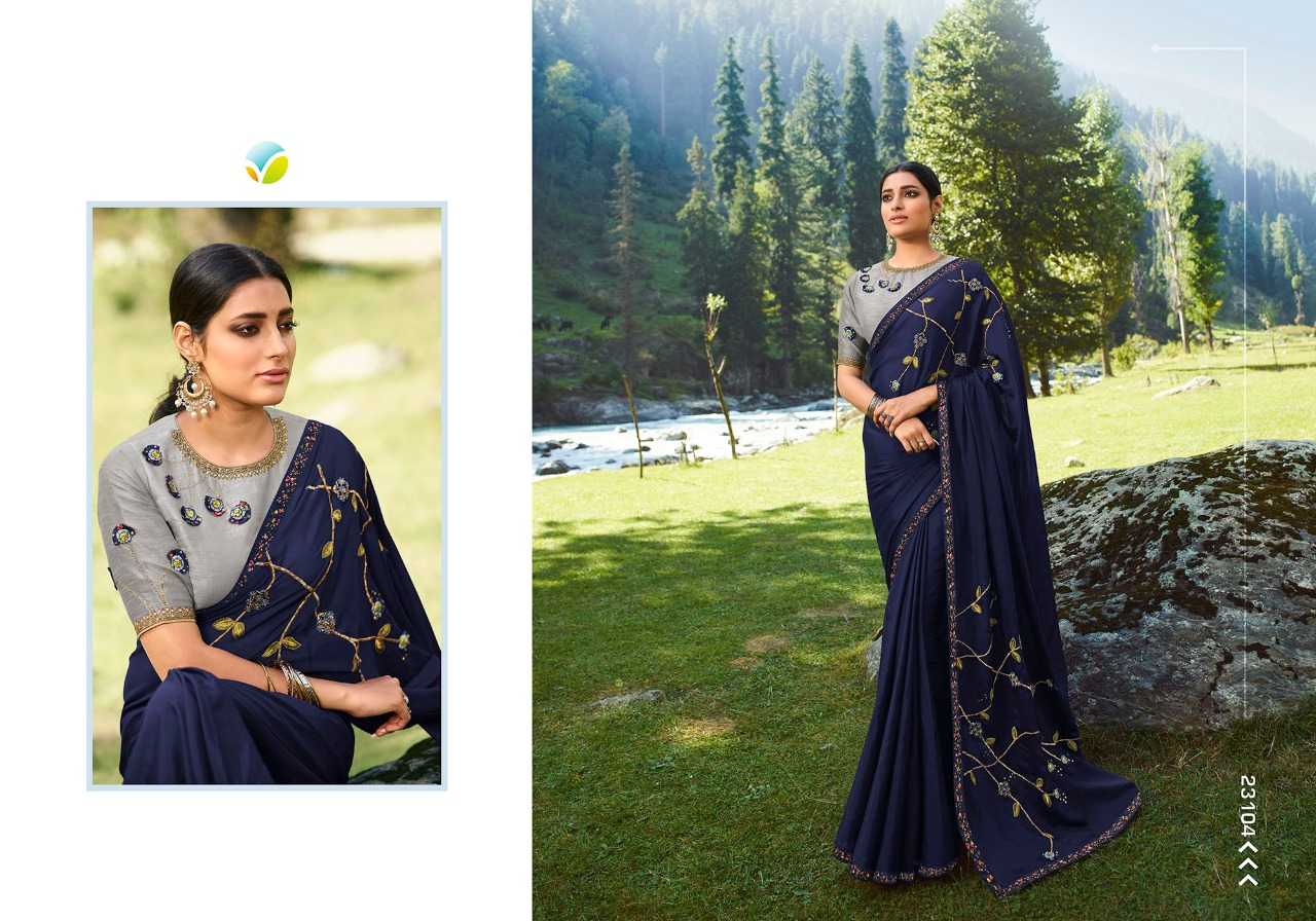 Vinay Sheesha Vibrant Saree Sari Wholesale Catalog 9 Pcs 1 - Vinay Sheesha Vibrant Saree Sari Wholesale Catalog 9 Pcs