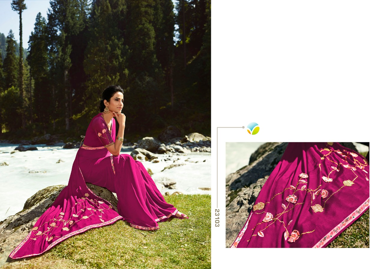 Vinay Sheesha Vibrant Saree Sari Wholesale Catalog 9 Pcs 3 - Vinay Sheesha Vibrant Saree Sari Wholesale Catalog 9 Pcs