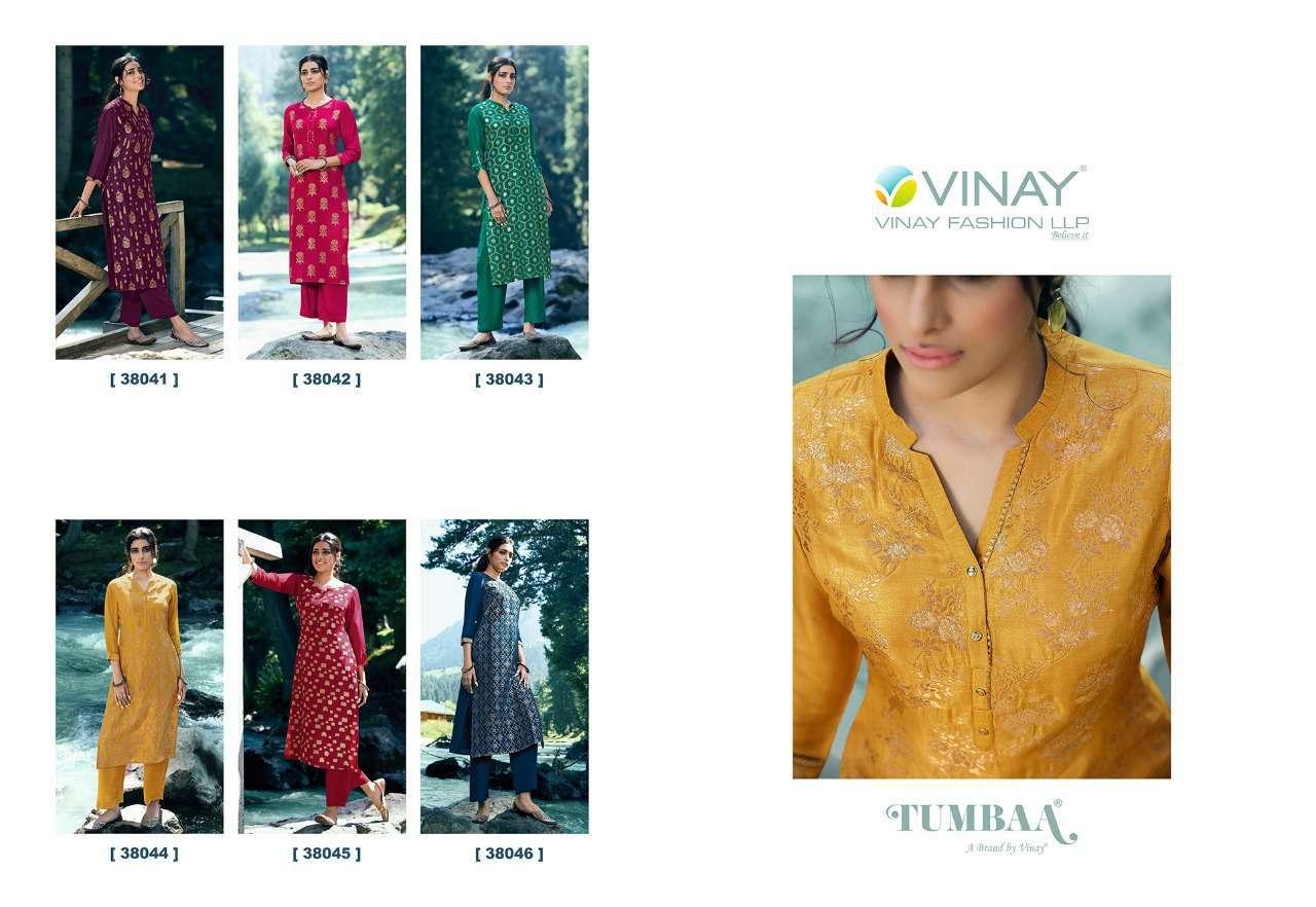 Vinay Tumbaa Lightning Vol 3 Kurti with Palazzo Wholesale Catalog 6 Pcs 9 - Vinay Tumbaa Lightning Vol 3 Kurti with Palazzo Wholesale Catalog 6 Pcs