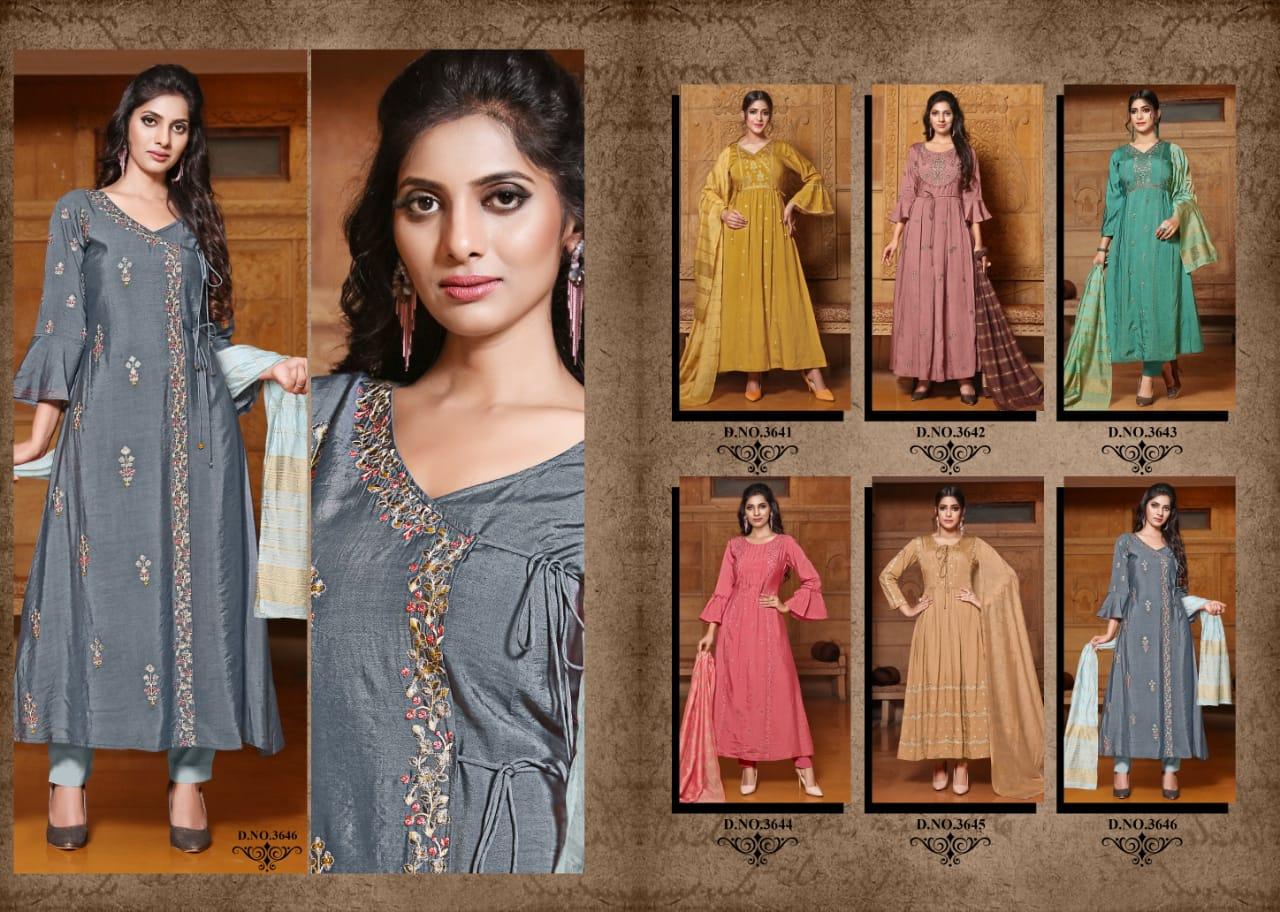 Yami Fashion Gajban Kurti with Dupatta Wholesale Catalog 6 Pcs 8 - Yami Fashion Gajban Kurti with Dupatta Wholesale Catalog 6 Pcs