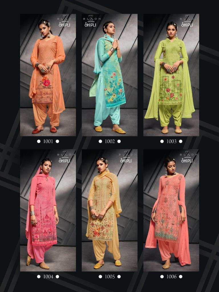 Z Black Shipli Readymade Salwar Suit Wholesale Catalog 6 Pcs 8 - Z Black Shipli Readymade Salwar Suit Wholesale Catalog 6 Pcs