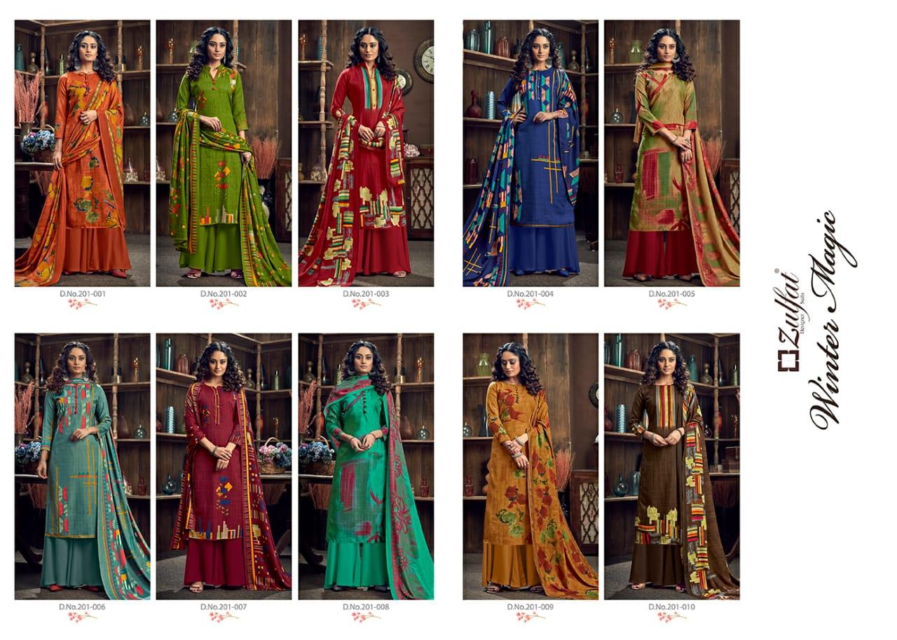 Zulfat Winter Magic Pashmina by Belliza Salwar Suit Wholesale Catalog 10 Pcs 13 - Zulfat Winter Magic Pashmina by Belliza Salwar Suit Wholesale Catalog 10 Pcs