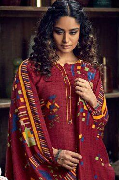 Zulfat Winter Magic Pashmina by Belliza Salwar Suit Wholesale Catalog 10 Pcs