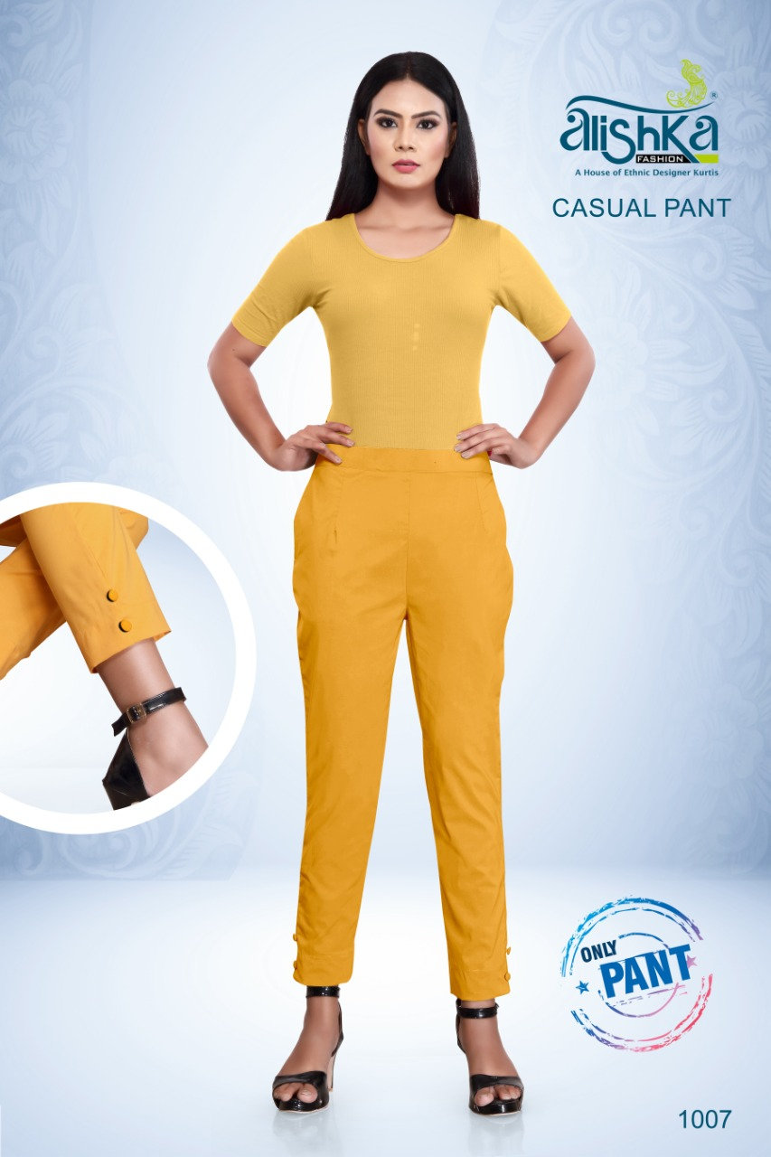 Alishka Casual Pant Wholesale Catalog 7 Pcs 6 - Alishka Casual Pant Wholesale Catalog 7 Pcs