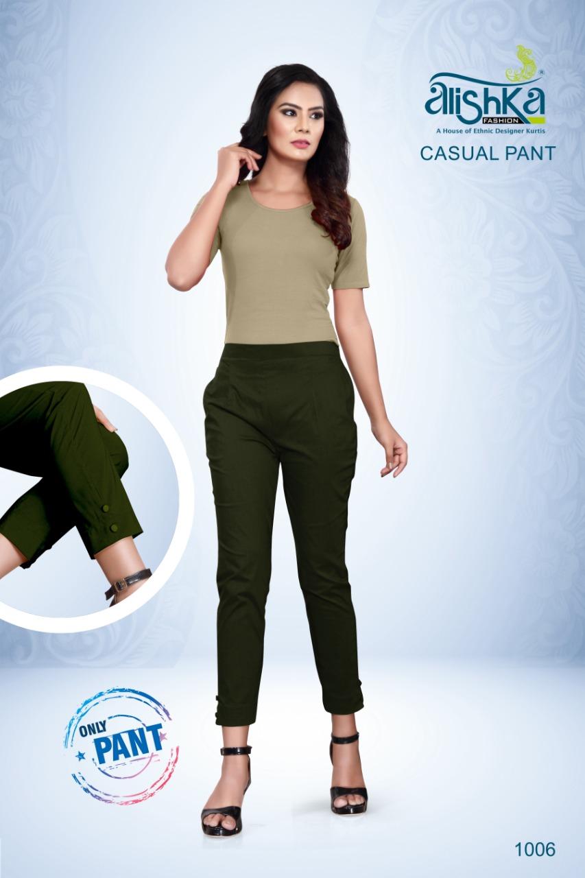 Alishka Casual Pant Wholesale Catalog 7 Pcs 7 - Alishka Casual Pant Wholesale Catalog 7 Pcs