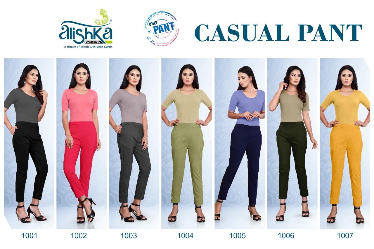 Alishka Casual Pant Wholesale Catalog 7 Pcs 8 - Alishka Casual Pant Wholesale Catalog 7 Pcs