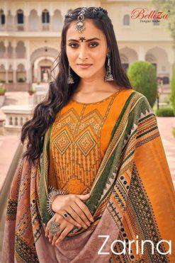 Belliza Zarina Pashmina Salwar Suit Wholesale Catalog 10 Pcs