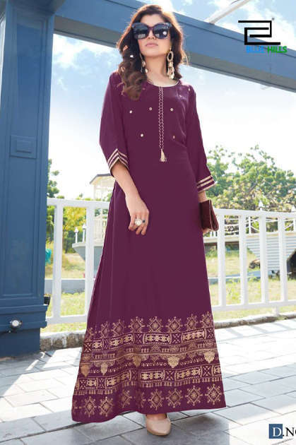 Blue Hills Hotstar Vol 3 Kurti Wholesale Catalog 6 Pcs - Blue Hills Hotstar Vol 3 Kurti Wholesale Catalog 6 Pcs