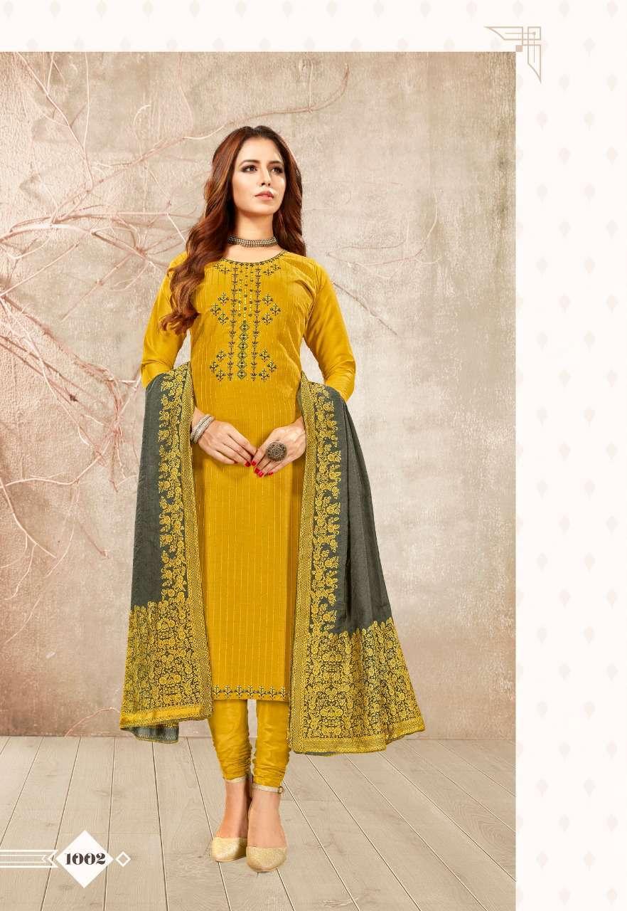 Brij Kora Vol 3 Salwar Suit Wholesale Catalog 8 Pcs 10 - Brij Kora Vol 3 Salwar Suit Wholesale Catalog 8 Pcs