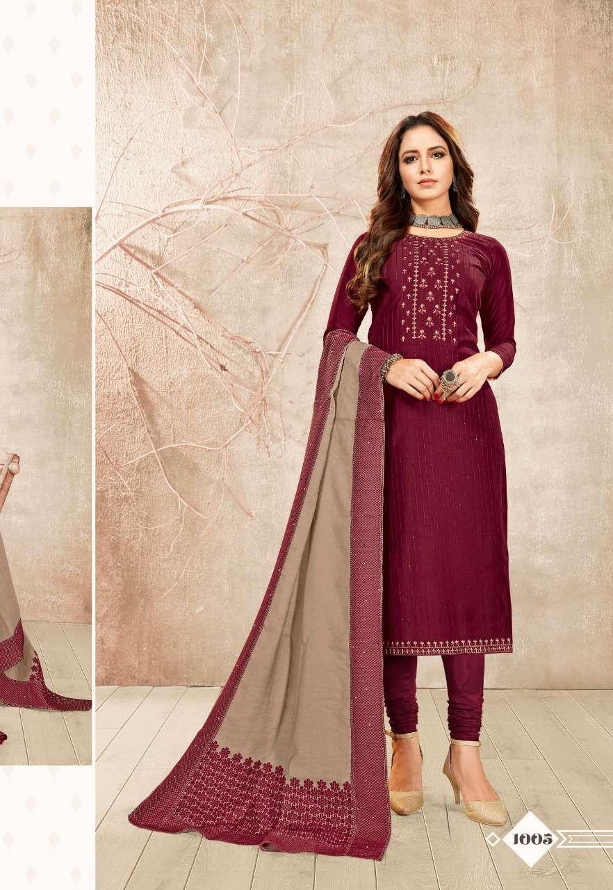 Brij Kora Vol 3 Salwar Suit Wholesale Catalog 8 Pcs 14 - Brij Kora Vol 3 Salwar Suit Wholesale Catalog 8 Pcs