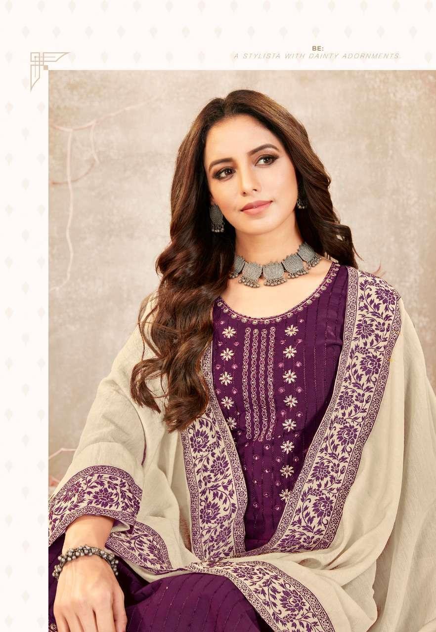 Brij Kora Vol 3 Salwar Suit Wholesale Catalog 8 Pcs 16 - Brij Kora Vol 3 Salwar Suit Wholesale Catalog 8 Pcs