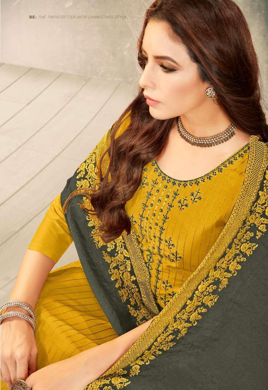 Brij Kora Vol 3 Salwar Suit Wholesale Catalog 8 Pcs 9 - Brij Kora Vol 3 Salwar Suit Wholesale Catalog 8 Pcs