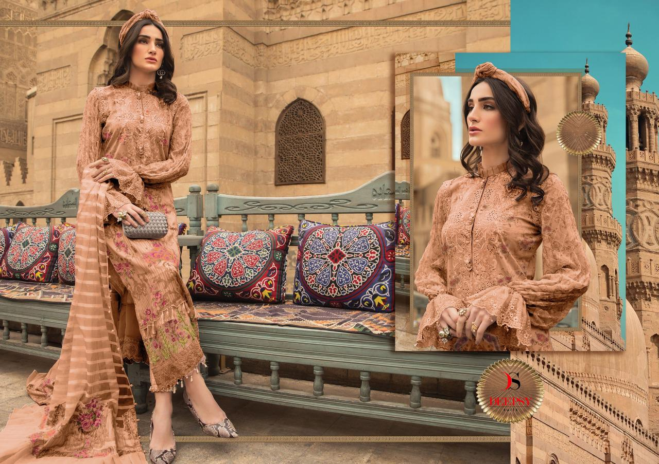 Deepsy Maria B Pashmina Salwar Suit Wholesale Catalog 6 Pcs 3 - Deepsy Maria B Pashmina Salwar Suit Wholesale Catalog 6 Pcs