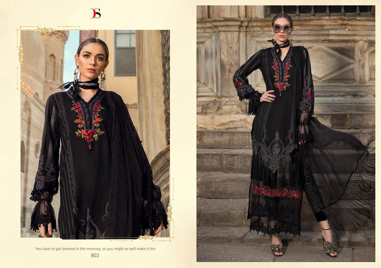 Deepsy Maria B Pashmina Salwar Suit Wholesale Catalog 6 Pcs 9 - Deepsy Maria B Pashmina Salwar Suit Wholesale Catalog 6 Pcs