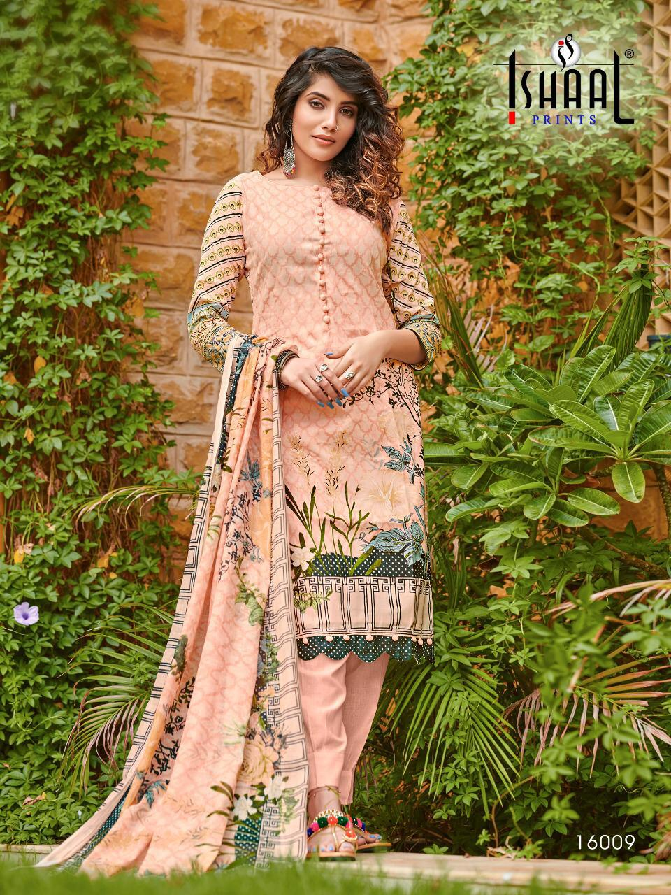 Ishaal Gulmohar Vol 16 Salwar Suit Wholesale Catalog 10 Pcs 10 - Ishaal Gulmohar Vol 16 Salwar Suit Wholesale Catalog 10 Pcs