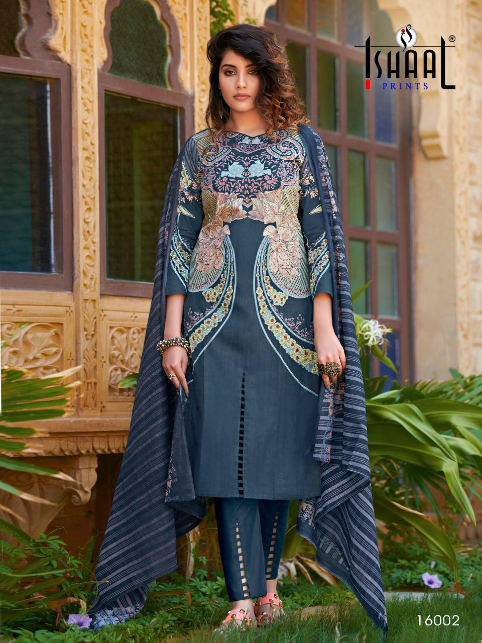 Ishaal Gulmohar Vol 16 Salwar Suit Wholesale Catalog 10 Pcs 7 - Ishaal Gulmohar Vol 16 Salwar Suit Wholesale Catalog 10 Pcs