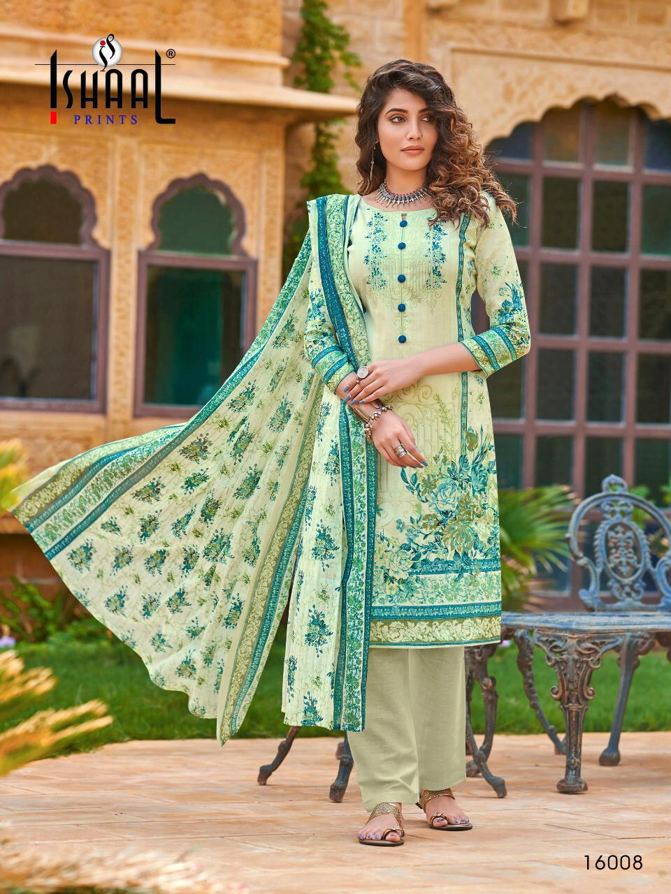 Ishaal Gulmohar Vol 16 Salwar Suit Wholesale Catalog 10 Pcs 9 - Ishaal Gulmohar Vol 16 Salwar Suit Wholesale Catalog 10 Pcs