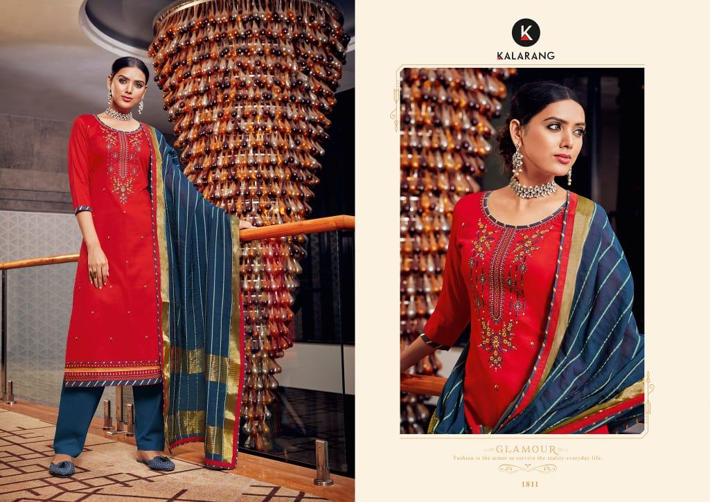 Kalarang Jasmine Vol 10 by Kessi Salwar Suit Wholesale Catalog 4 Pcs 1 - Kalarang Jasmin Vol 10 by Kessi Salwar Suit Wholesale Catalog 4 Pcs