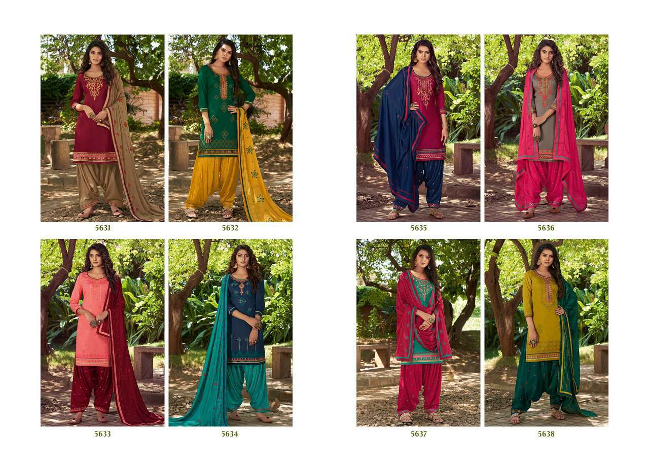 Kessi Patiala House Vol 80 Salwar Suit Wholesale Catalog 8 Pcs 11 - Kessi Patiala House Vol 80 Salwar Suit Wholesale Catalog 8 Pcs