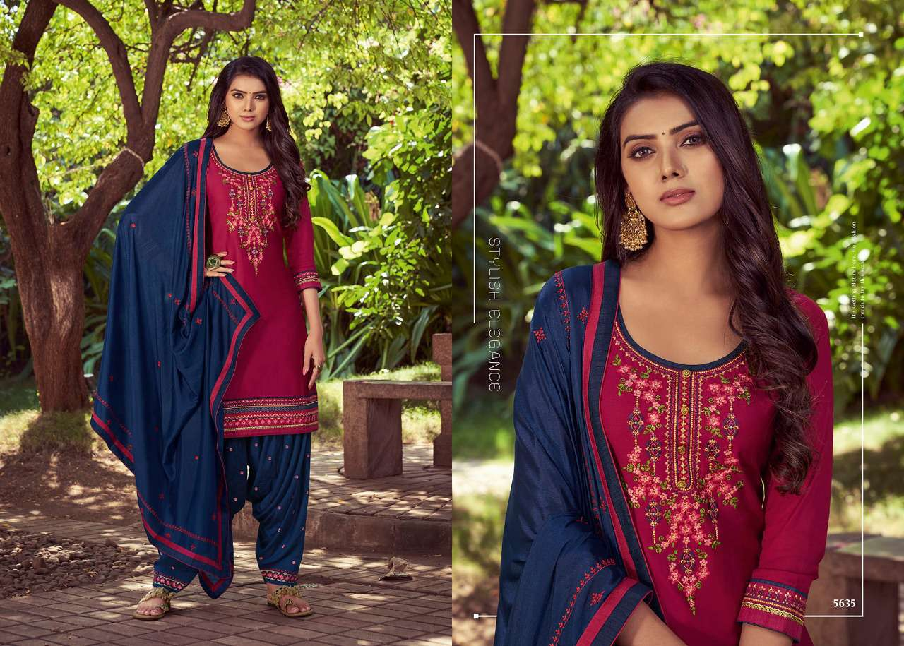 Kessi Patiala House Vol 80 Salwar Suit Wholesale Catalog 8 Pcs 4 - Kessi Patiala House Vol 80 Salwar Suit Wholesale Catalog 8 Pcs