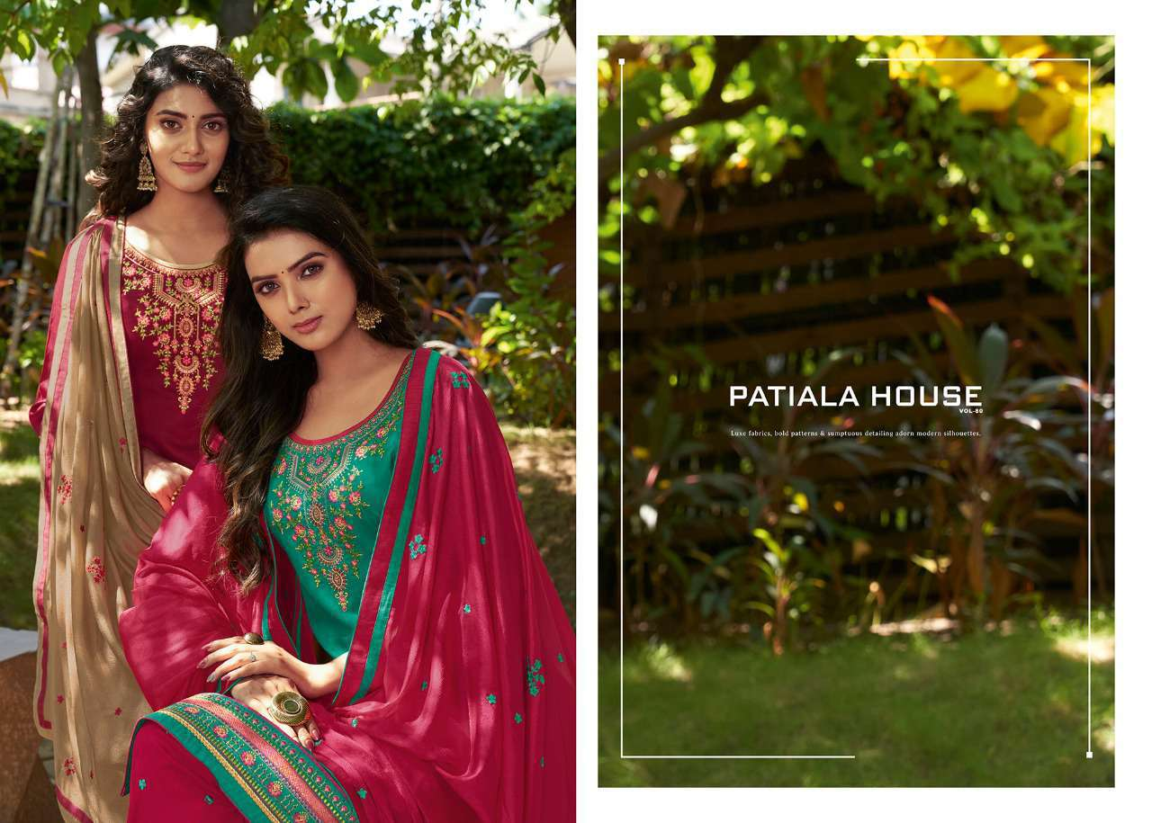 Kessi Patiala House Vol 80 Salwar Suit Wholesale Catalog 8 Pcs 6 - Kessi Patiala House Vol 80 Salwar Suit Wholesale Catalog 8 Pcs