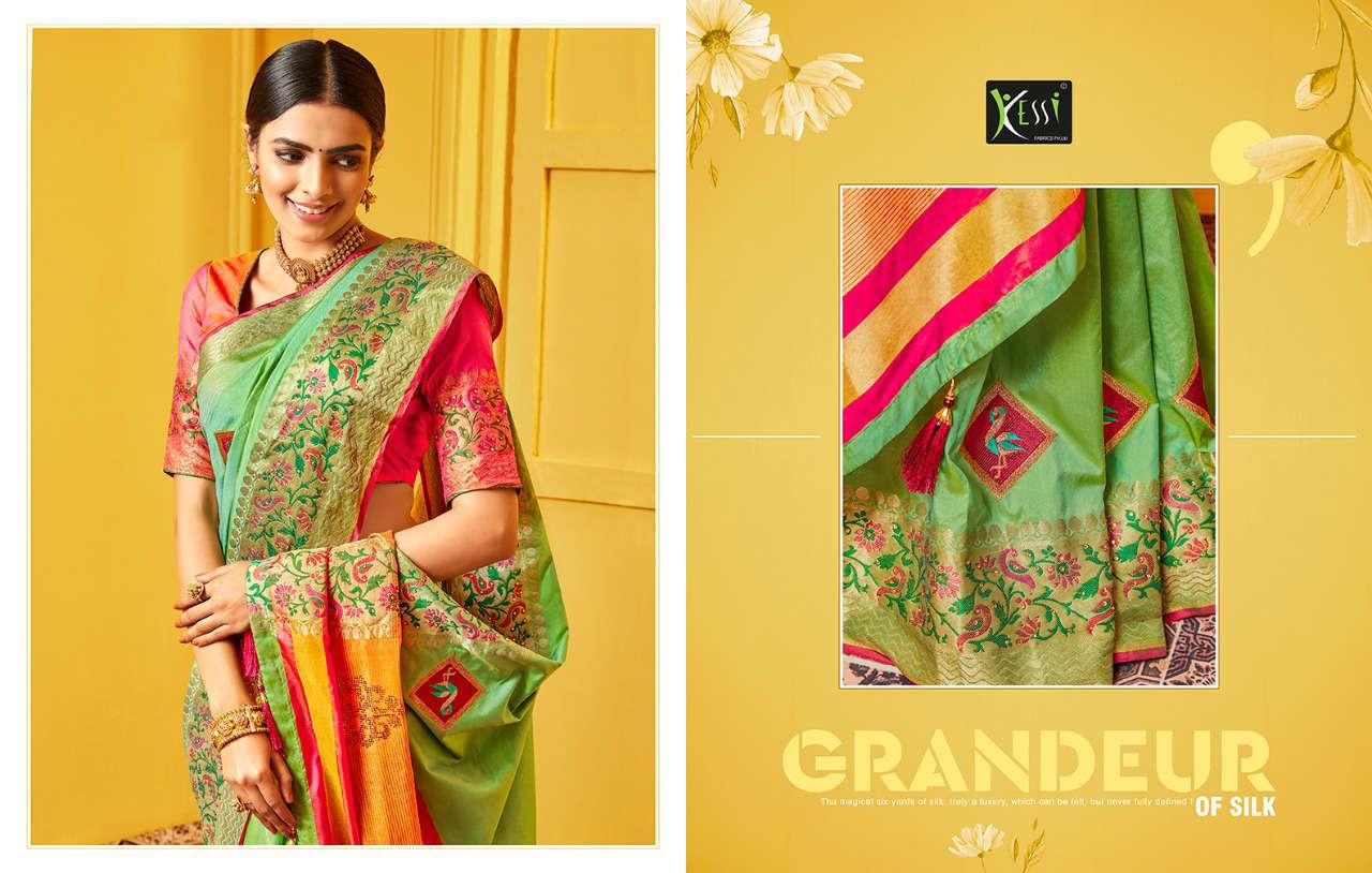 Kessi Raj Gharana Saree Sari Wholesale Catalog 8 Pcs 3 - Kessi Raj Gharana Saree Sari Wholesale Catalog 8 Pcs
