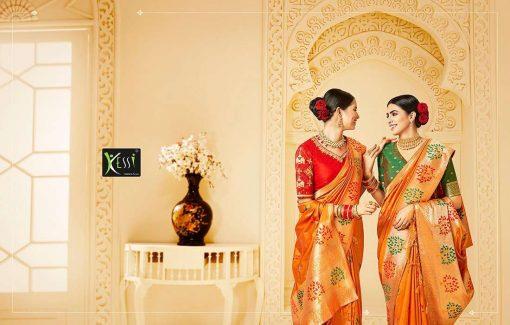 Kessi Shubh Manglam Double Blouse Saree Sari Wholesale Catalog 10 Pcs 2 510x325 - Kessi Shubh Manglam Double Blouse Saree Sari Wholesale Catalog 10 Pcs