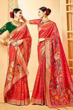 Kessi Shubh Manglam Double Blouse Saree Sari Wholesale Catalog 10 Pcs 247x371 - Kessi Shubh Manglam Double Blouse Saree Sari Wholesale Catalog 10 Pcs