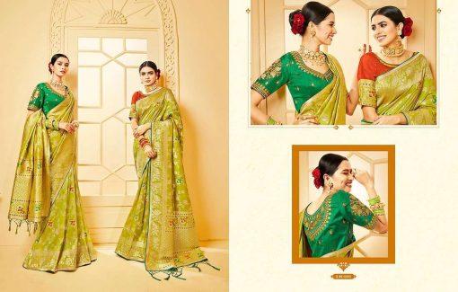 Kessi Shubh Manglam Double Blouse Saree Sari Wholesale Catalog 10 Pcs 4 510x325 - Kessi Shubh Manglam Double Blouse Saree Sari Wholesale Catalog 10 Pcs