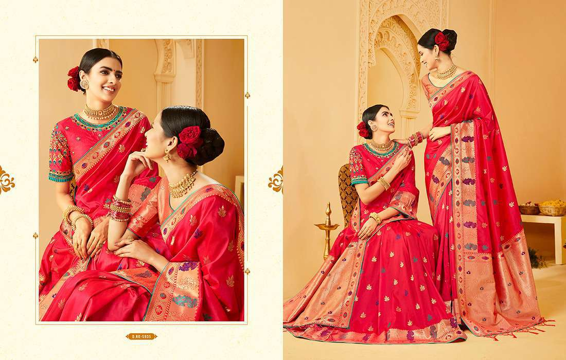 Kessi Shubh Manglam Double Blouse Saree Sari Wholesale Catalog 10 Pcs 6 - Kessi Shubh Manglam Double Blouse Saree Sari Wholesale Catalog 10 Pcs