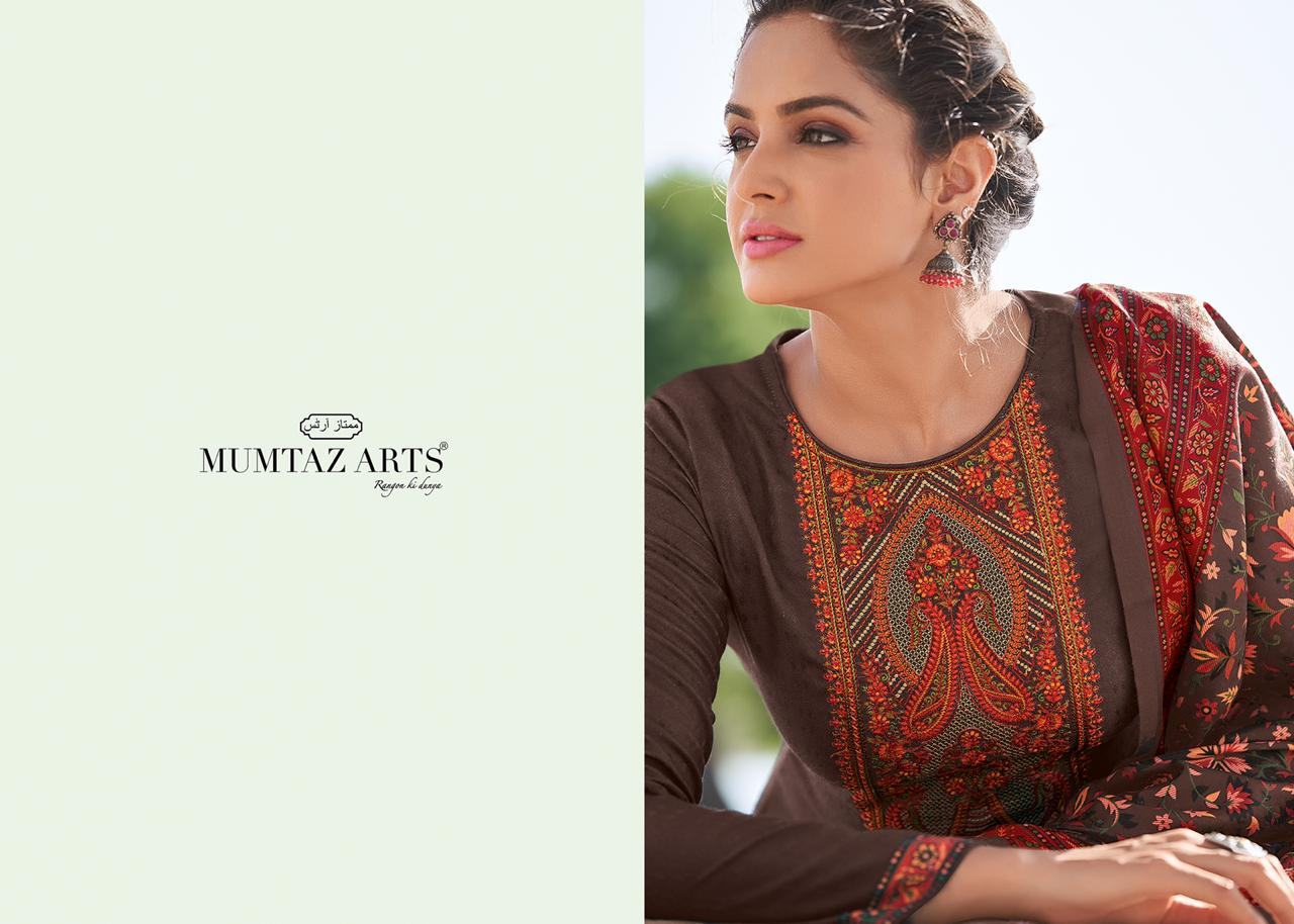 Mumtaz Arts Cashmere Pashmina Salwar Suit Wholesale Catalog 10 Pcs 1 - Mumtaz Arts Cashmere Pashmina Salwar Suit Wholesale Catalog 10 Pcs