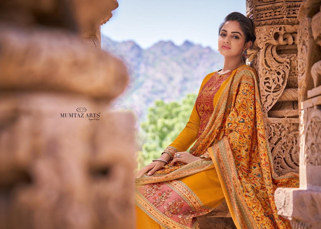 Mumtaz Arts Kashni Pashmina Salwar Suit Wholesale Catalog 10 Pcs 2 - Mumtaz Arts Kashni Pashmina Salwar Suit Wholesale Catalog 10 Pcs