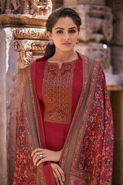 Mumtaz Arts Kashni Pashmina Salwar Suit Wholesale Catalog 10 Pcs