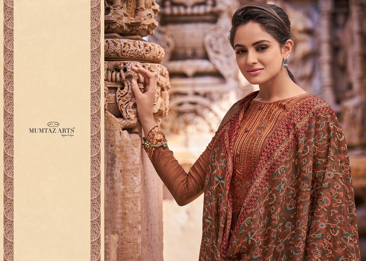 Mumtaz Arts Kashni Pashmina Salwar Suit Wholesale Catalog 10 Pcs 8 - Mumtaz Arts Kashni Pashmina Salwar Suit Wholesale Catalog 10 Pcs