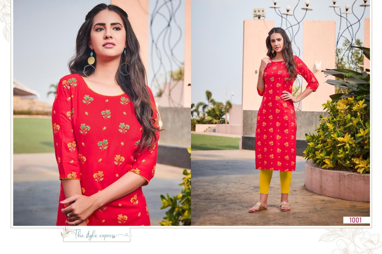 R Studio Aisha by Baanvi Kurti Wholesale Catalog 8 Pcs 4 - R Studio Aisha by Baanvi Kurti Wholesale Catalog 8 Pcs