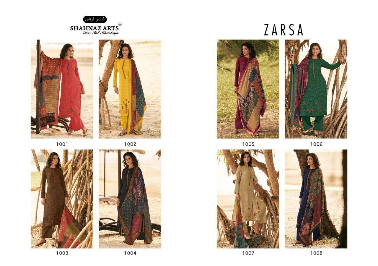 Shahnaz Arts Zarsa Pashmina Salwar Suit Wholesale Catalog 8 Pcs 11 - Shahnaz Arts Zarsa Pashmina Salwar Suit Wholesale Catalog 8 Pcs