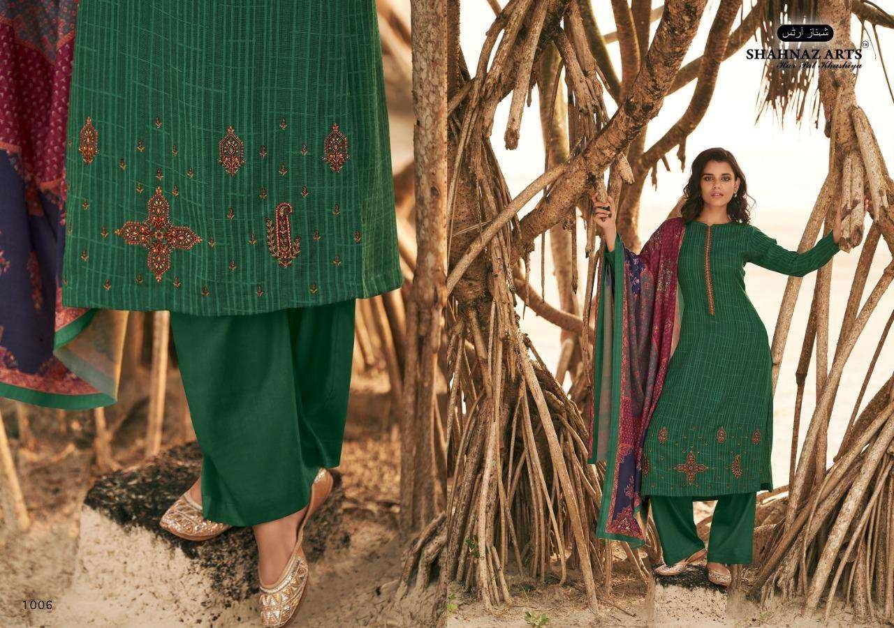 Shahnaz Arts Zarsa Pashmina Salwar Suit Wholesale Catalog 8 Pcs 2 - Shahnaz Arts Zarsa Pashmina Salwar Suit Wholesale Catalog 8 Pcs