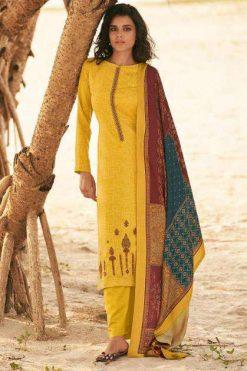 Shahnaz Arts Zarsa Pashmina Salwar Suit Wholesale Catalog 8 Pcs