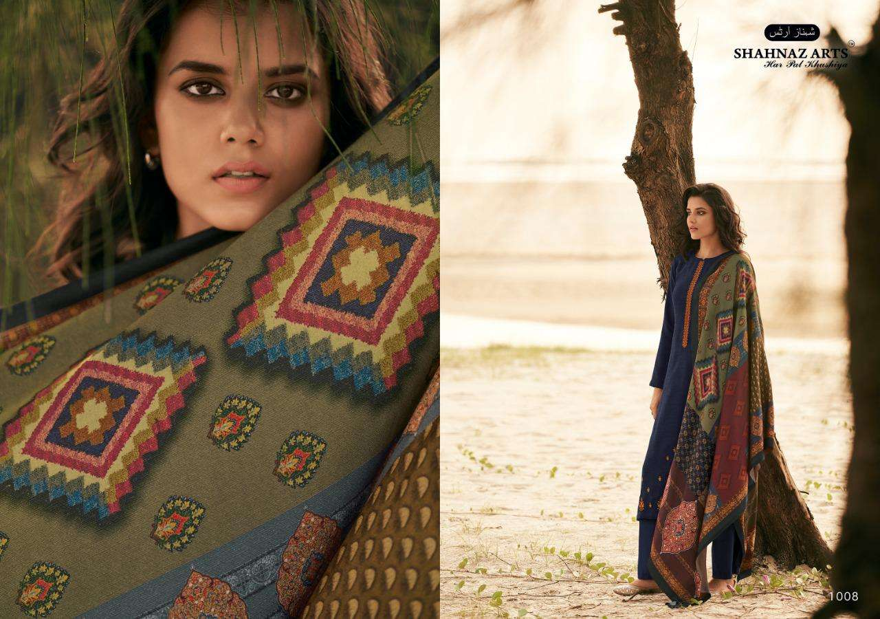 Shahnaz Arts Zarsa Pashmina Salwar Suit Wholesale Catalog 8 Pcs 5 - Shahnaz Arts Zarsa Pashmina Salwar Suit Wholesale Catalog 8 Pcs