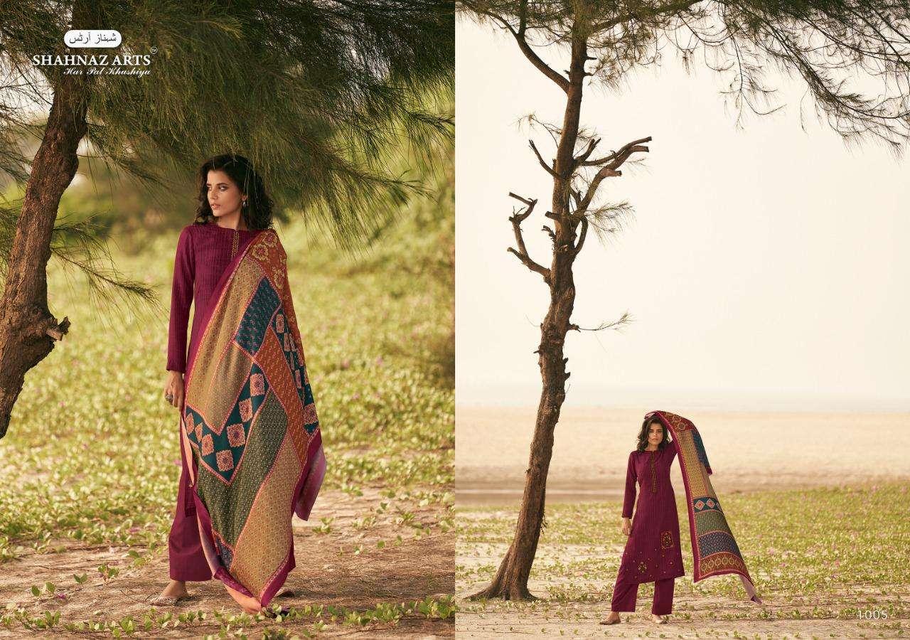 Shahnaz Arts Zarsa Pashmina Salwar Suit Wholesale Catalog 8 Pcs 6 - Shahnaz Arts Zarsa Pashmina Salwar Suit Wholesale Catalog 8 Pcs
