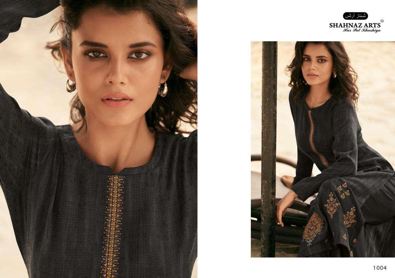 Shahnaz Arts Zarsa Pashmina Salwar Suit Wholesale Catalog 8 Pcs 9 - Shahnaz Arts Zarsa Pashmina Salwar Suit Wholesale Catalog 8 Pcs
